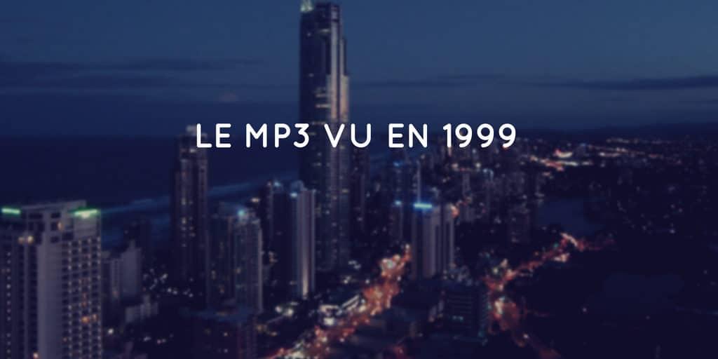 Le MP3 vu en 1999